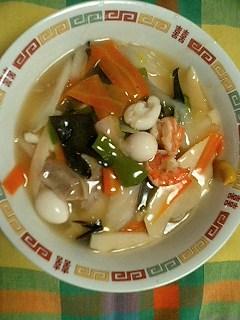 我家の料理、中華丼