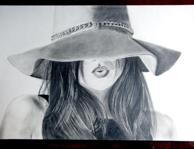 鉛筆画練習、枝川いくみ