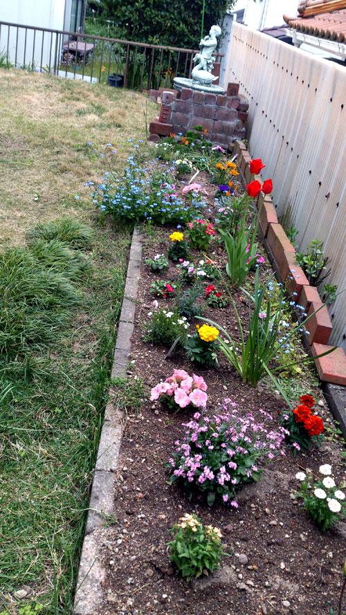 庭直花いじり