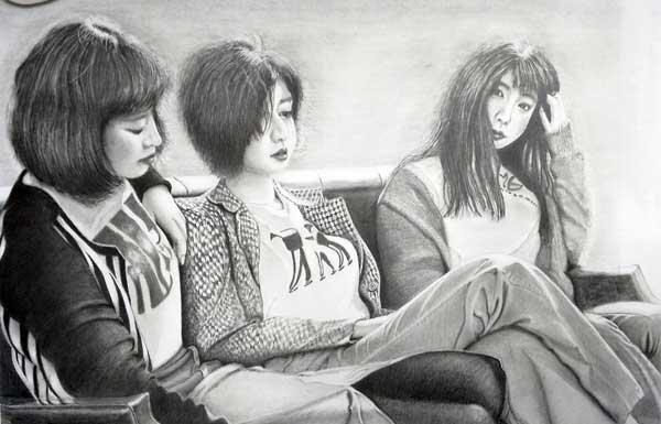 枝川真理の鉛筆画講座 受講生の作品 浅田さん