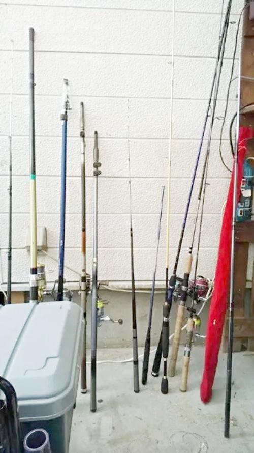 僕の釣り道具
