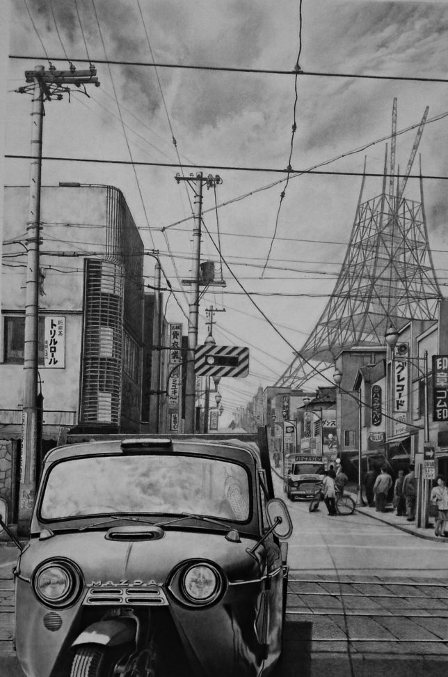 枝川真理の鉛筆画教室 受講生の方の作品